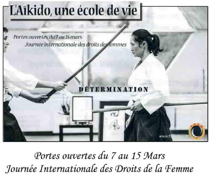 initiation gratuite au club Aikido Cherbourg Cotentin d'Equeurdreville (aikido : l'ancêtre du kinomichi)