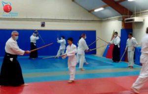 Pratique des arts martiaux en octobre par le club Aikido Cherbourg Cotentin à Equeurdreville Hainneville